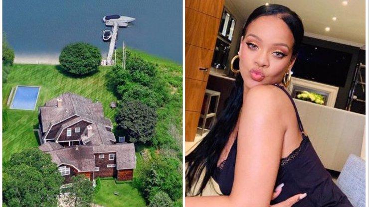 Tady stráví barbadoská kráska léto: Rihanna si pronajala luxusní dům za téměř 10 milionů