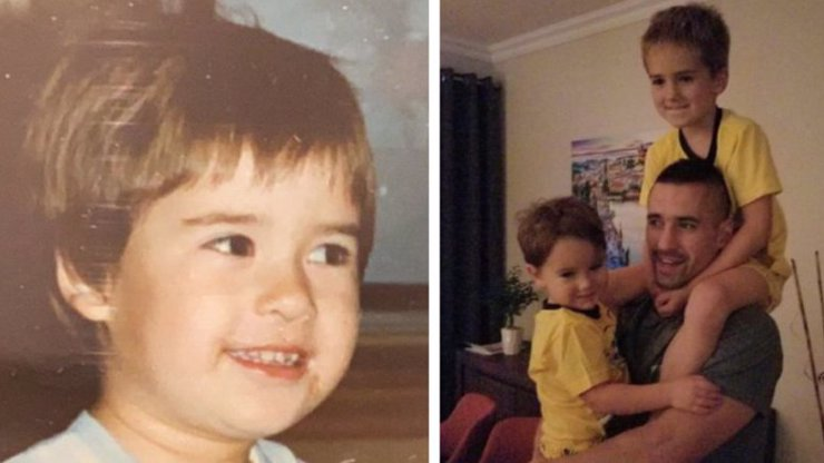 Tomáš Plekanec ukázal fotku z dětství: Už je jasné, komu jsou jeho roztomilí synové podobní