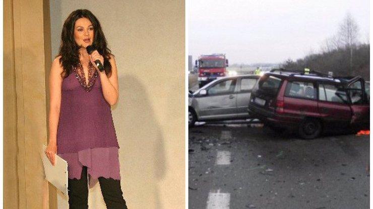 Brutální autonehoda Jany Adámkové: Bývalou moderátorku Novy a její matku museli vystříhávat z vozu!