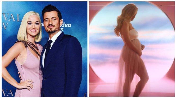 Velkolepé odhalení Katy Perry: Zpěvačka je těhotná, z Orlanda Blooma bude tatínek