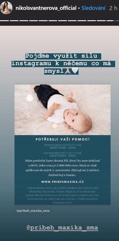 Pomozte zachránit Maxíka z Ostravy: Chlapeček má čas jen do 2. narozenin