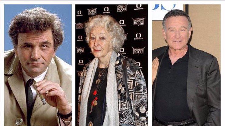 11 celebrit, které trpěly Alzheimerovou chorobou: Columbo i Květa Fialová měli demenci