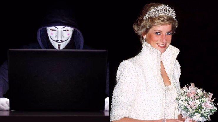 Anonymous rozvířili spekulace o smrti princezny Diany: Jednalo se o objednávku královské rodiny?