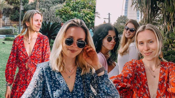 Krásná Mariana Prachařová si s kamarádkami užívá Dubaj: Vycestovat byl skvělý nápad, myslí si