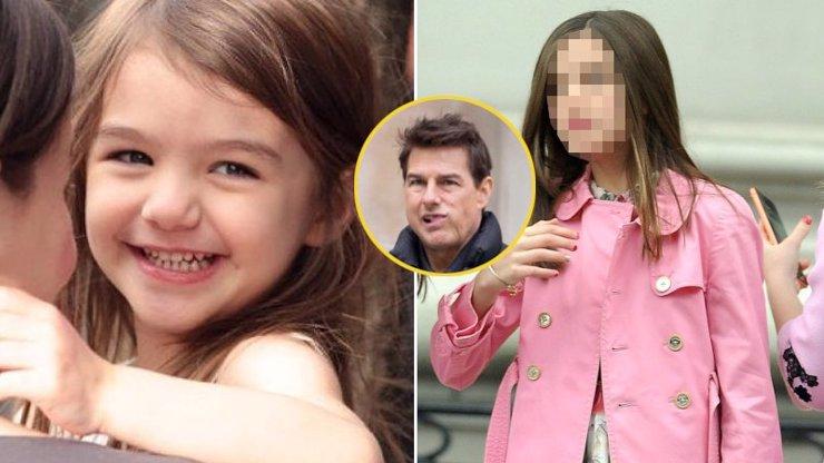 Dcera Toma Cruise už je puberťačka: Suri slaví 13 a roste z ní krásná slečna
