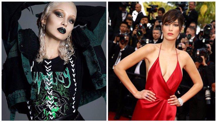 Bella Hadid se chce za každou cenu lišit od své sestry! Obarvila se na blond a nafotila provokativní fotky!