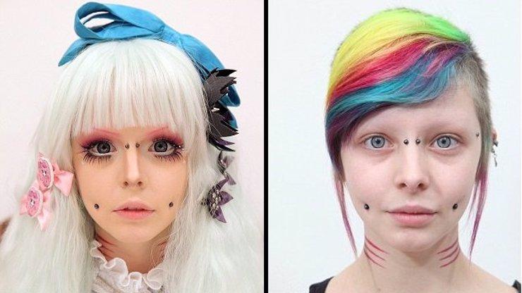Extrémní proměna: Proč se mladá studentka každý den stává japonskou panenkou?