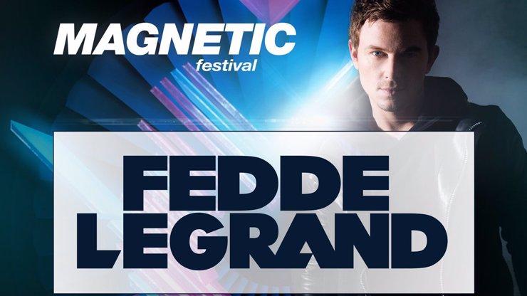 Už v pátek přijde taneční Ježíšek! Fede Le Grand vám naservíruje pořádnou music nadílku na Magnetic!