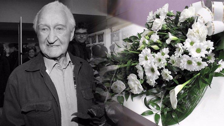 Pohřeb Miloše Nesvadby (†95): Česko se loučí se skvělým hercem a kreslířem