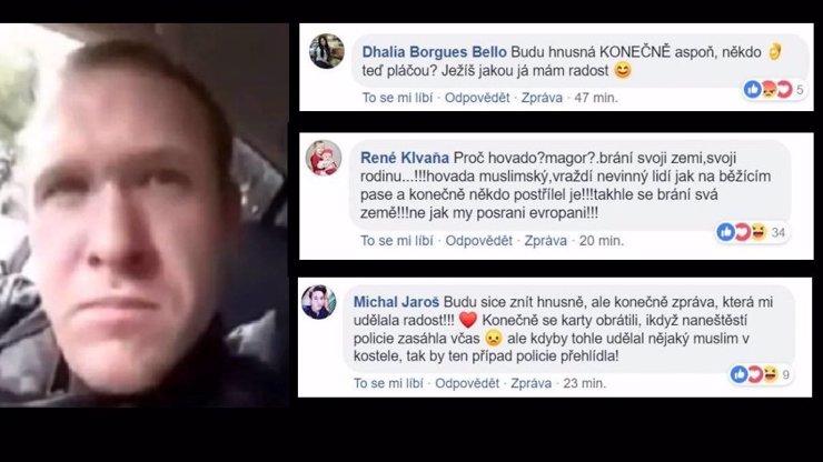 Dobře, že zdechli! Je to hrdina: Takto se Češi radují z útoku na muslimy, hrozí jim kriminál
