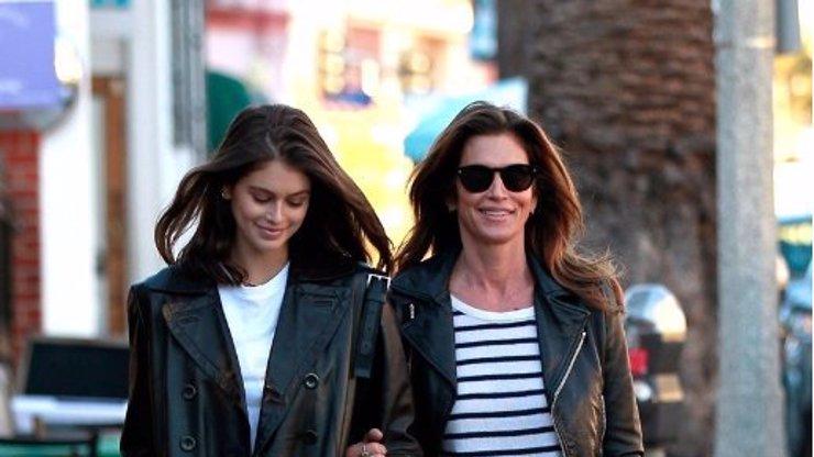 Dcera Cindy Crawford vyrostla: Kaia (18) je krásnější než maminka za dob slávy