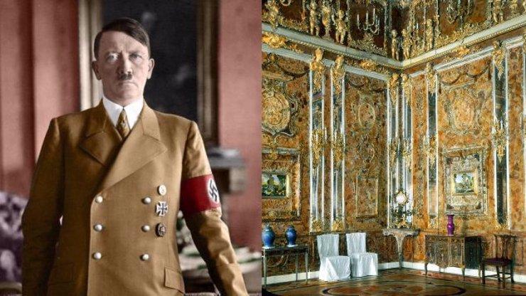 Nález Jantarové komnaty, kterou ukradl Hitler: Byl objeven tajný vchod do bunkru