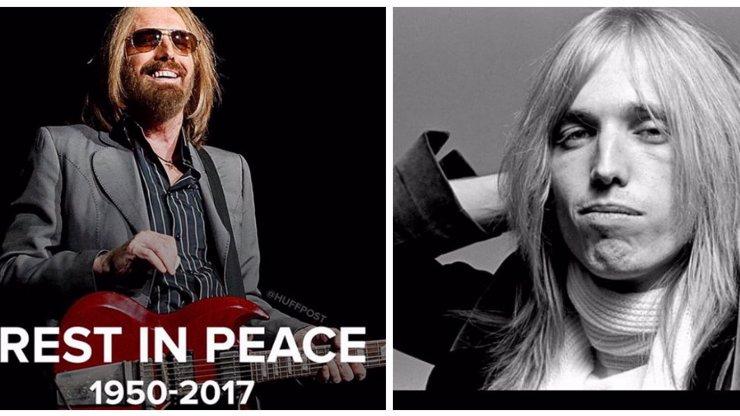 Legendární rockový zpěvák Tom Petty je po smrti: V 66 letech zemřel na zástavu srdce