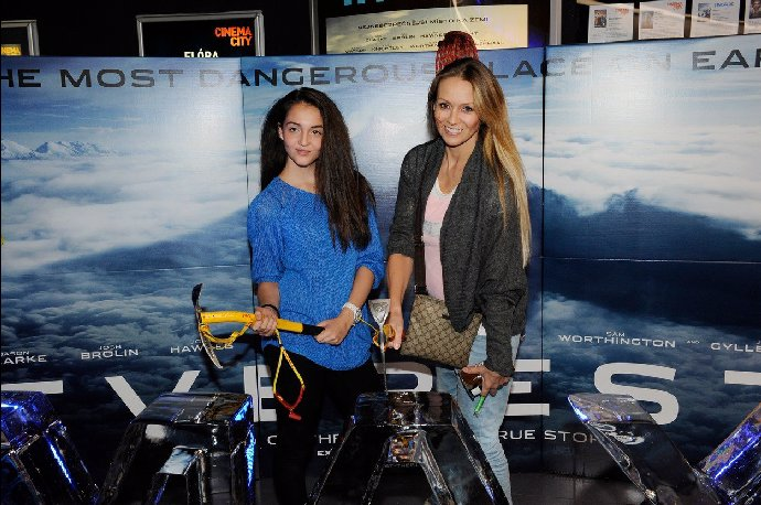 Martina Gavriely s krásnou dcerou Jessicou.