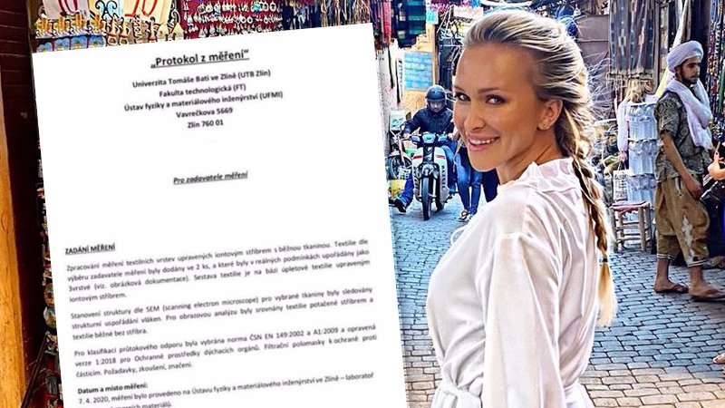 Reakce Nely Slovákové k výsledku analýzy roušek: Obvinění ze lži a prásknutí telefonem