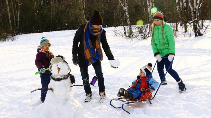 Na co si dát pozor, když jedete s dětmi na hory