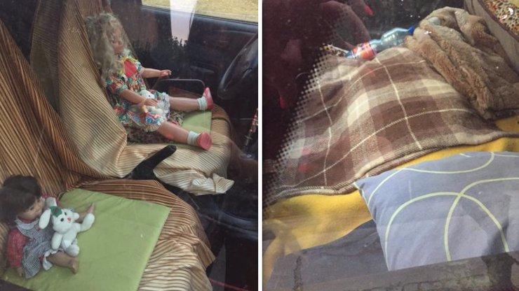 Zvrhlík z Brna nahání strach: V autě si vozí panenky, v kufru má rozestlanou