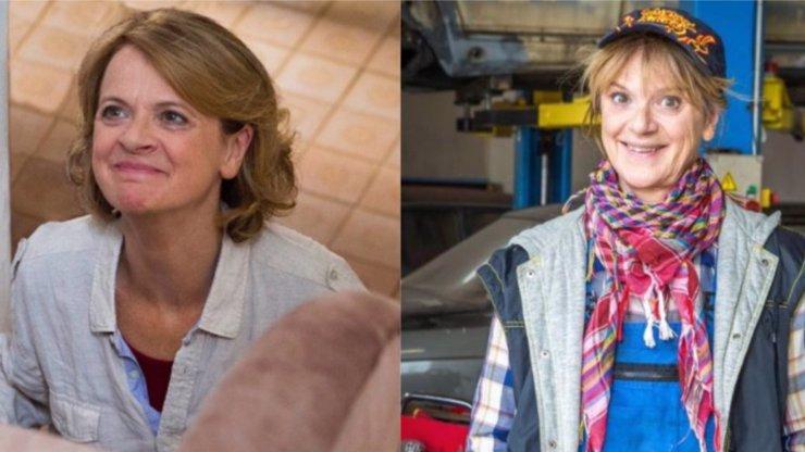 Taťjana Medvecká v Mostu!: Pro seriál se změnila z krásné ženy v babču v montérkách!