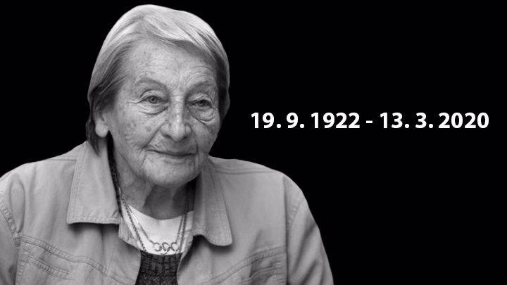 Poslední rozloučení s Danou Zátopkovou: Přála si mít u sebe ostatky manžela Emila