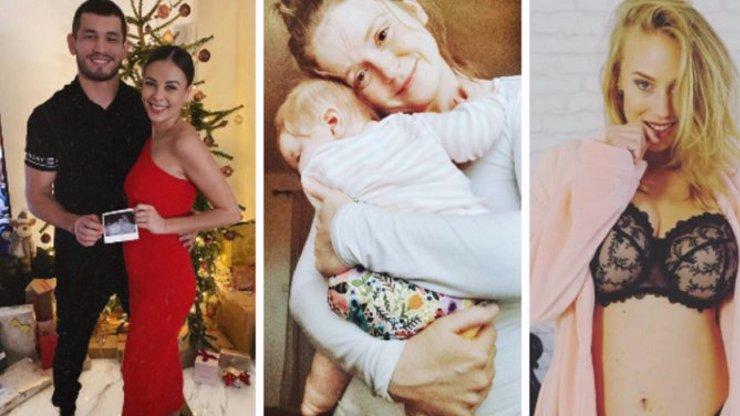 Která slavná miminka přijdou zanedlouho na svět? Tyto krásky letos porodí