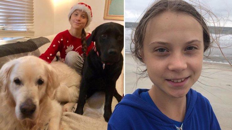 10 snímků jako důkaz: Greta Thunberg mnohé děsí, ve skutečnosti je ale jemnou dívkou