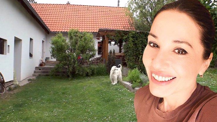 Míša Kuklová ukázala snové bydlení: Svůj klid našla v útulném domku za Prahou