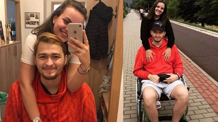 Měsíc od smrti hokejisty Ondry Buchtely (†20): Anička mu poslala do nebe dojemný vzkaz
