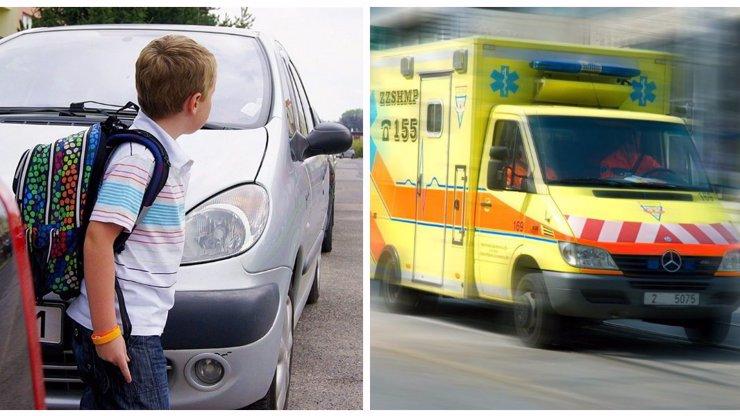 Smrtelná tragédie: Žena a dítě přecházely mimo přechod a smetl je náklaďák