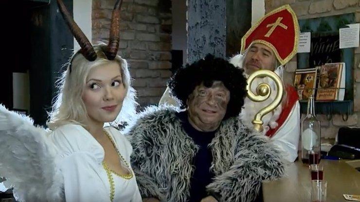 Tohle je bezesporu ten nejvíce sexy anděl letošních Vánoc. Markéta Poulíčková září v klipu žižkovského barda jyrzzyho!