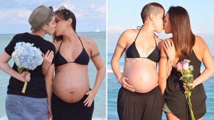 Melanie a Vanessa si prohodily těhotenská bříška! Podívejte se, jakou nádhernou rodinu tyto lesbičky mají!