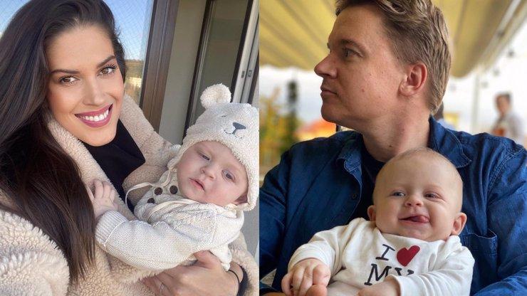 Aneta Vignerová a její dvě Kolečka: Malý roste jako z vody a ten velký září štěstím