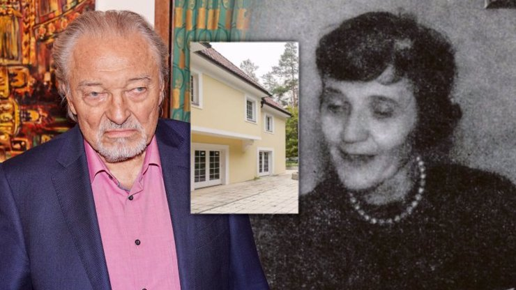 Tajemství vily Karla Gotta, která se prodává: Jeho maminka tam zemřela na infarkt