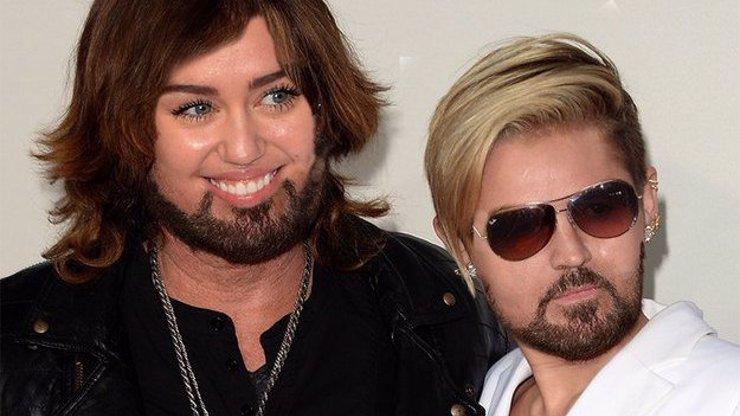Celebritám a jejich dětem vyměnili ve Photoshopu obličeje. Výsledek vás opět dostane!
