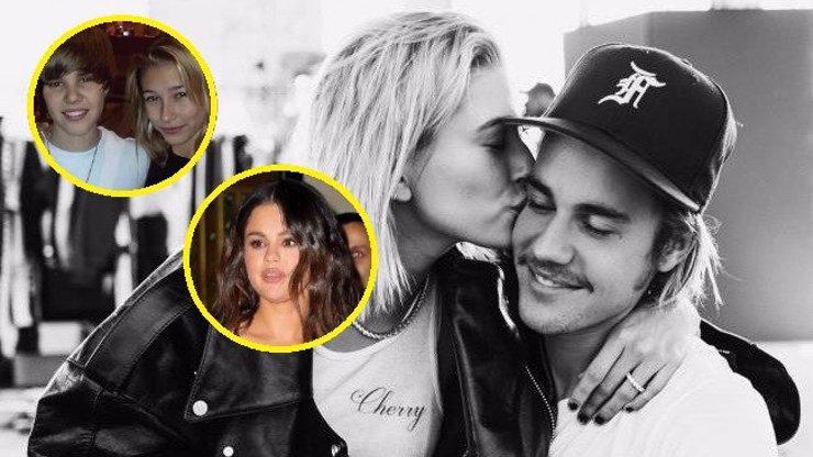 Krutá rána pro bývalku: Justin Bieber zveřejnil fotku s manželkou z dob, kdy randil se Selenou