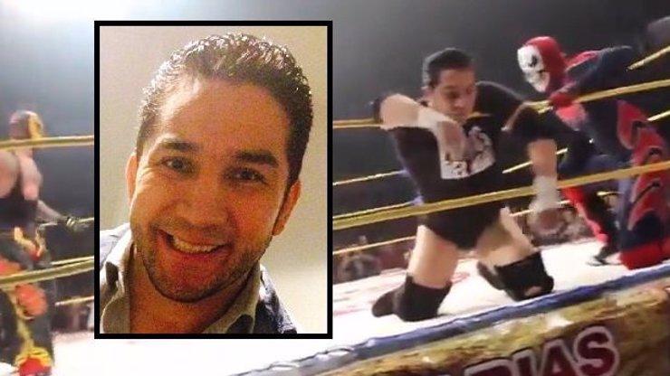 Wrestler byl ukopán přímo v ringu. Všichni stáli a tleskali, mysleli si, že je to jen show. Pozor, tohle video není fake!