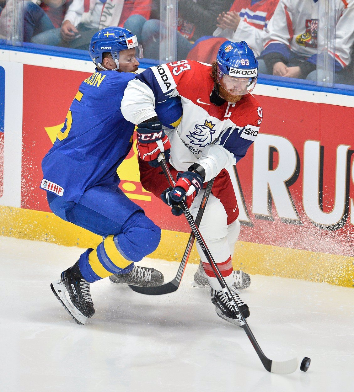 Program MS v hokeji: Češi začnou zase se Švédy. Kdy nás čeká derby se Slováky?
