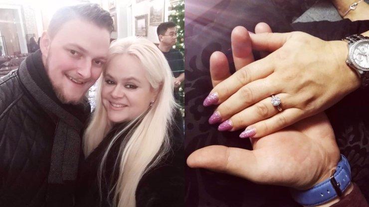 Monika Štiková se bude vdávat: Zajíček Petr Binias poklekl s velkým diamantem
