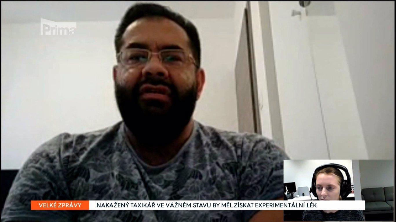 Do Česka dorazil lék Remdesivir: Jako první ho dostává pražský taxikář v kritickém stavu