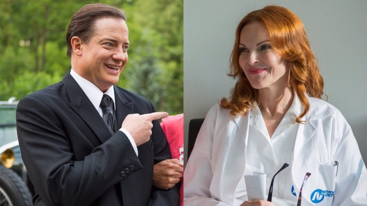 Český film Za oponou života vypadá na pořádnou halucinaci: Brendan Fraser a Marcia Cross po boku Bolka Polívky