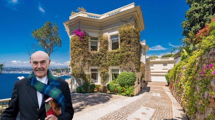Skvost, ve kterém žil Sean Connery: Vila po představiteli Jamese Bonda je na prodej