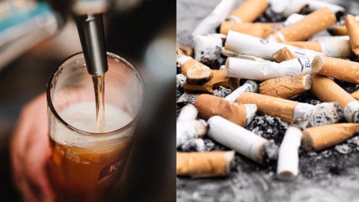 Příšerné prvenství v EU: Češi za alkohol a cigarety utrácejí víc než za vzdělání a zdraví dohromady!