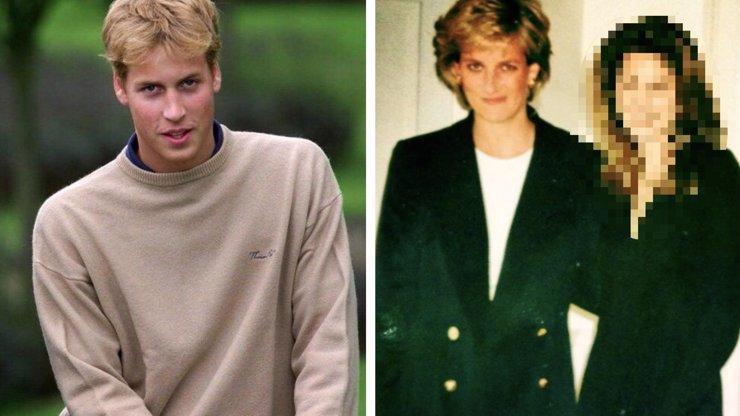 Princ William slaví 36 let: Kterou jeho pubertální lásku mu princezna Diana přivedla až domů?