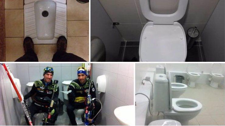 10 totálně bizarních obrázků záchodů z olympijského městečka Soči v Rusku