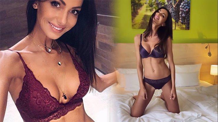 Modelka Eliška Bučková: Předvedla postavičku ve spodním prádle a vypadá čím dál líp