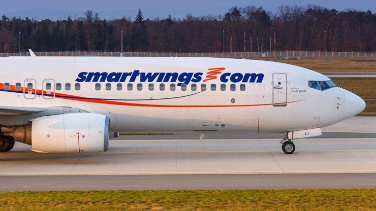 Letoun společnosti Smartwings musel nouzově přistát: Na palubě bylo 160 cestujicích