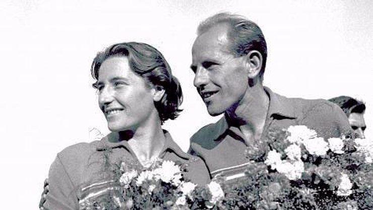 Legendární atleti Dana a Emil Zátopkovi by společně slavili 96. narozeniny: Jaké bylo jejich manželství?