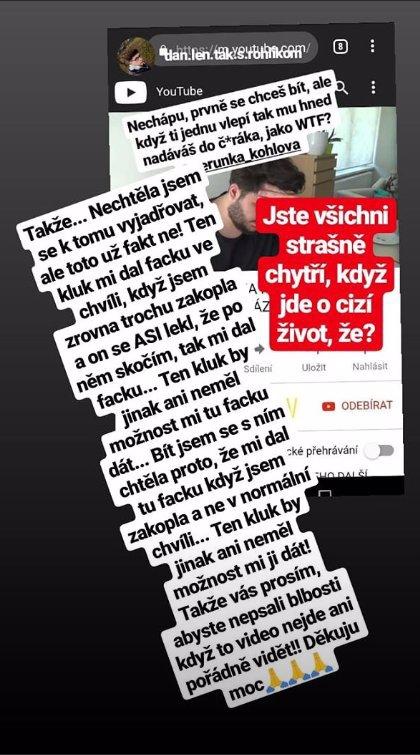 VIDEO: Verunka (13) zuří! Neunesla drsná slova o Vlčkovi (22), chtěla se bít a dostala facku
