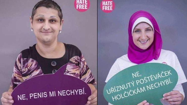 Češi si dělají legraci ze ženské obřízky a islámu. HATE FREE mnohým lidem vadí