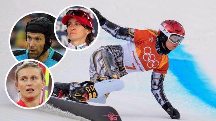 Gratulace od největších hvězd! Ze zlaté Ester Ledecké jsou čeští sportovci u vytržení