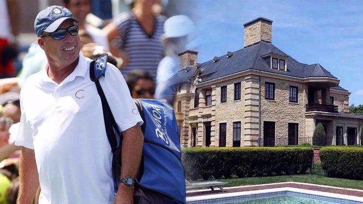 Panství jako z pohádky! Legendární tenista Ivan Lendl prodává své luxusní sídlo